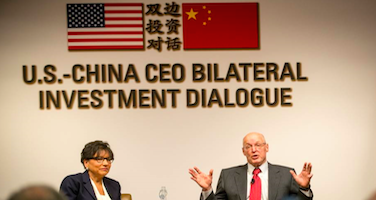 US-China CEO Bilateral Investment Treaty Dialogue Thumb