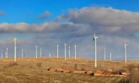 Xinhua Wind Power Zhangjiakou (Xinhua:Yang Shirao)