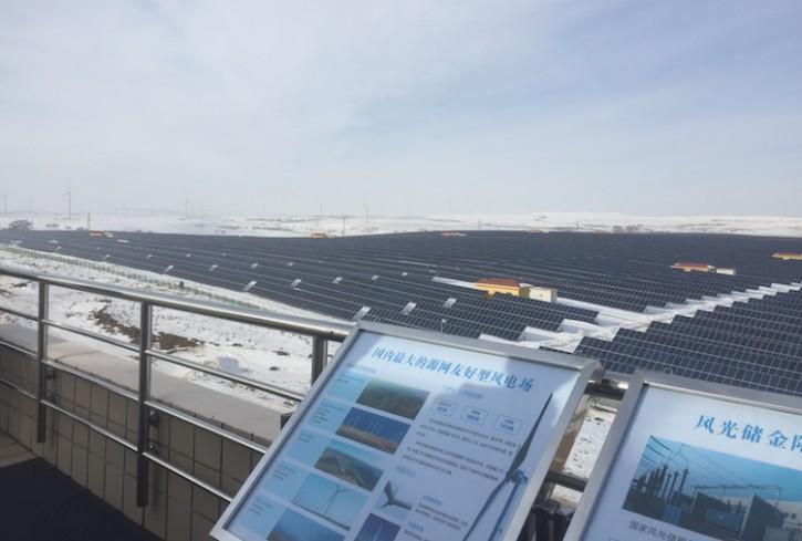 保尔森基金会研究部最近前往河北省张家口市(上图)考察,这里是2022年冬奥会的联合举办地之一。河北省制定了2022年之前可再生能源发电量和用电量双增长的宏伟目标,保尔森基金会研究部特为此开展实地调研,以掌握第一手资料。