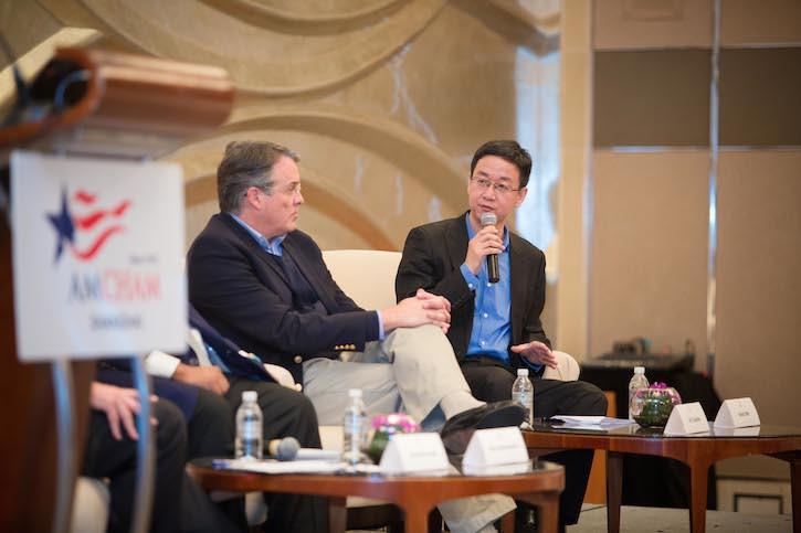 Kevin Mo AmCham Shanghai Panel 1